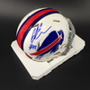Bills - Ed Oliver Signed Mini Helmet