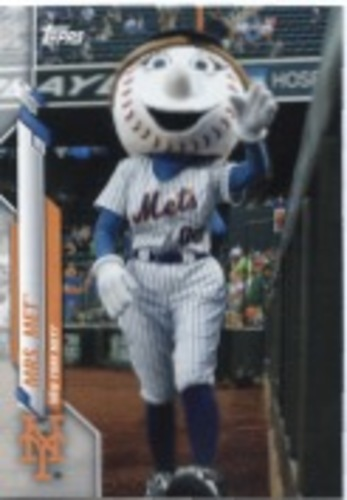 Photo of 2020 Topps Opening Day Mascots #M23 Mrs. Met