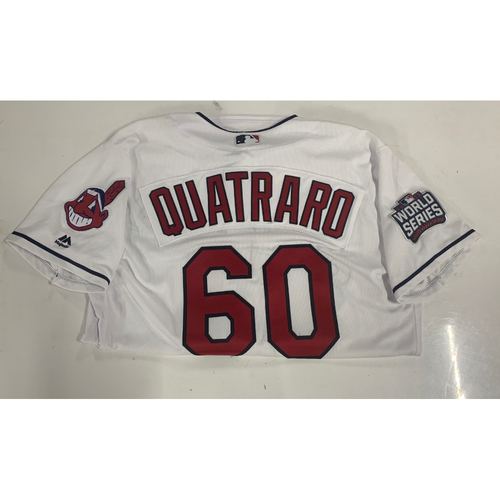 Team Issued 2016 Home Postseason Jersey - Matt Quatraro #60