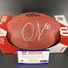 NFL - Colts Quentin Nelson Signed Authentic Football