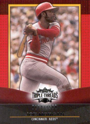 Photo of 2011 Topps Triple Threads #31 Joe Morgan