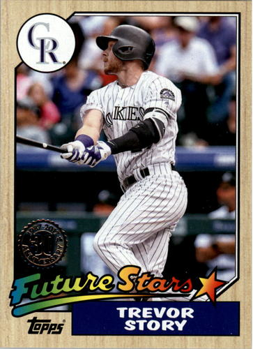 Photo of 2017 Topps '87 Topps #51 Trevor Story