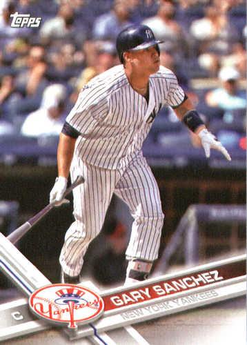Photo of 2017 Yankees Topps #NYY13 Gary Sanchez