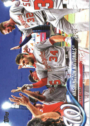 Photo of 2018 Topps #349 Washington Nationals