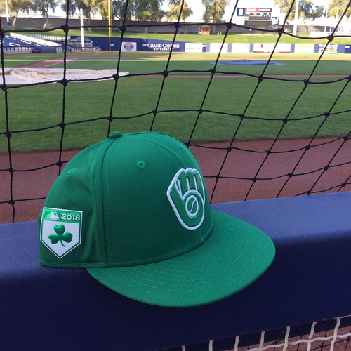 Photo of Boone Logan 2018 Team-Issued St. Patrick's Day Cap
