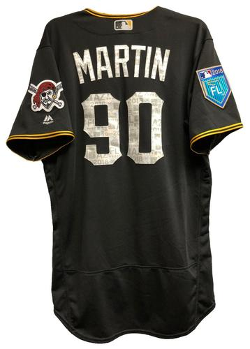 Photo of Jason Martin Team-Issued 2018 Spring Training Jersey