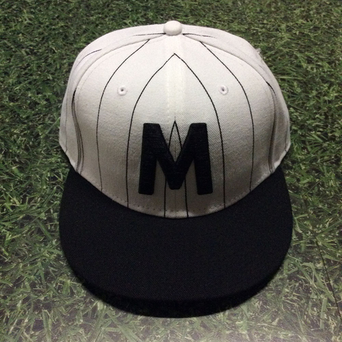 Photo of Corbin Burnes 2018 Milwaukee Bears Game-Used Cap - 2nd Career Win