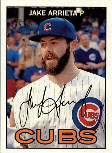 Photo of 2016 Topps Heritage #78A Jake Arrieta