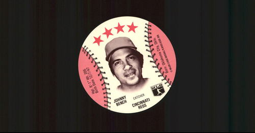 Photo of 1976 Isaly Discs #2 Johnny Bench