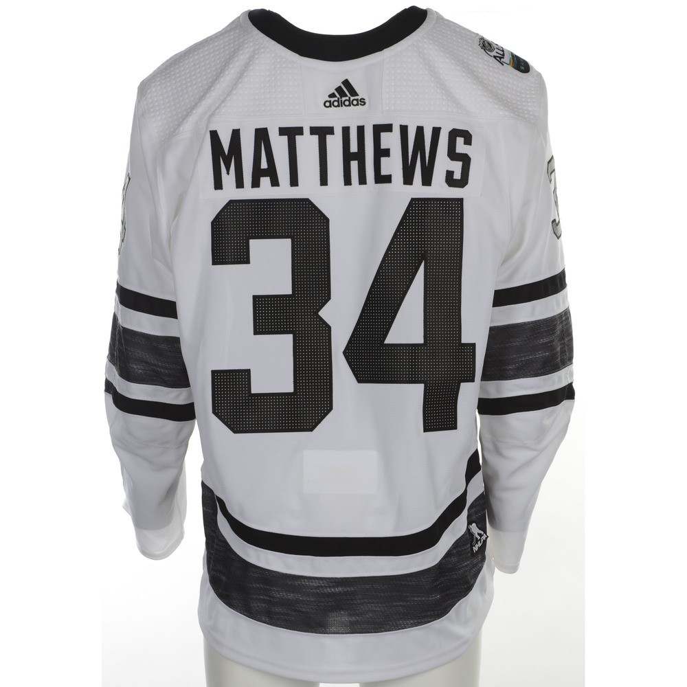 Auston Matthews Toronto Maple Leafs Player-Issued 2019 All-Star Game Jersey 9eb27254d