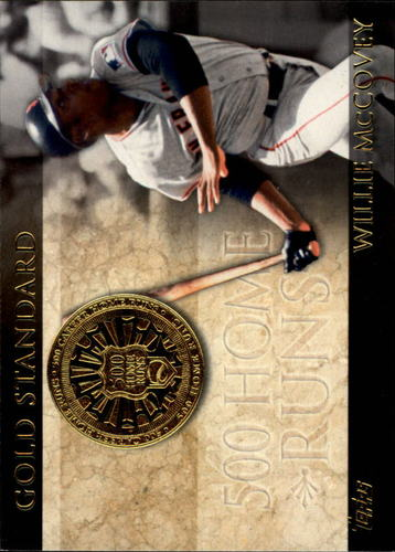 Photo of 2012 Topps Gold Standard #GS9 Willie McCovey