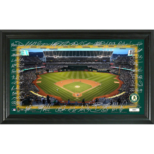 Photo of Oakland Athletics Signature Field Photo Frame
