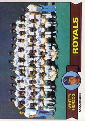 Photo of 1979 Topps #451 Kansas City Royals CL/Whitey Herzog MG