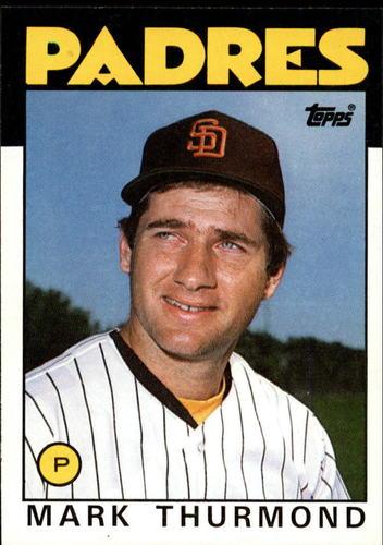 Photo of 1986 Topps #37 Mark Thurmond