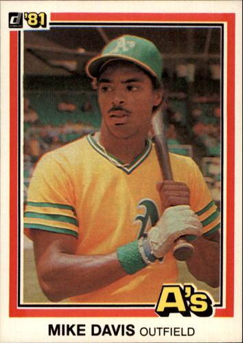 Photo of 1981 Donruss #470 Mike Davis RC