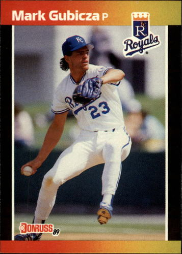 Photo of 1989 Donruss #179 Mark Gubicza