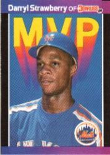 Photo of 1989 Donruss Bonus MVP's #BC6 Darryl Strawberry