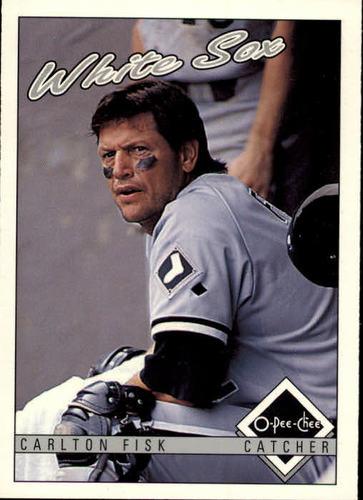 Photo of 1993 O-Pee-Chee #78 Carlton Fisk