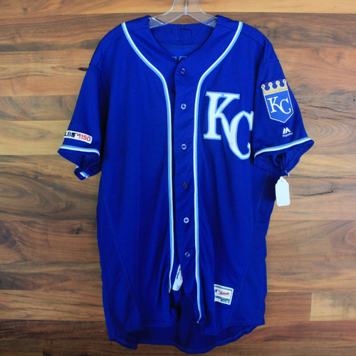 Photo of Game-Used Jersey: Jake Junis (KC @ MIN 9/22/19)