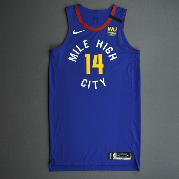 Image of Gary Harris - Denver Nuggets - Game-Issued Statement Edition Jersey - 2019-20 NBA Season Restart with Social Justice Message