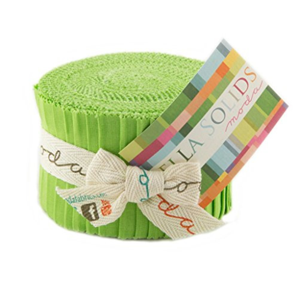 Photo of Bella Solids Lime Jr Jelly Roll
