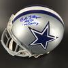 HOF - Cowboys Bob Lilly Signed Proline Helmet W/