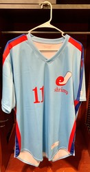 Photo of Jacksonville Expos Fauxback Jersey #11 Size 46