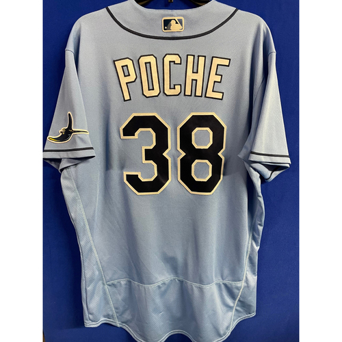 Photo of Game Used 2020 Spring Training Jersey: Colin Poche - 2 Games - February 23 v NYY & March 4 v TOR