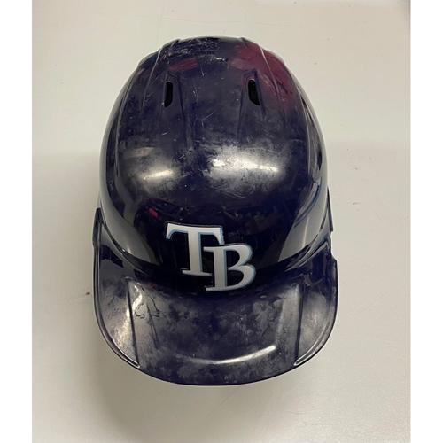 Photo of Team Issued TB Batting Helmet: Joey Wendle #18