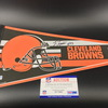 NFL - Browns Tommy Togiai Signed Pennant