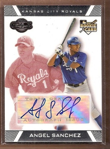 Photo of 2007 Topps Co-Signers Red #101 Angel Sanchez AU