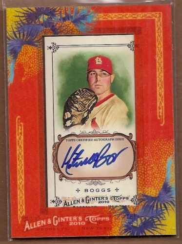 Photo of 2010 Topps Allen and Ginter Autographs #MTB Mitchell Boggs