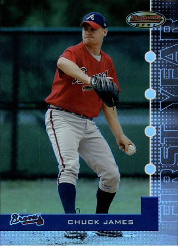 Photo of 2005 Bowman's Best #100 Chuck James FY RC