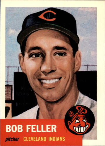 Photo of 1991 Topps Archives 1953 #54 Bob Feller