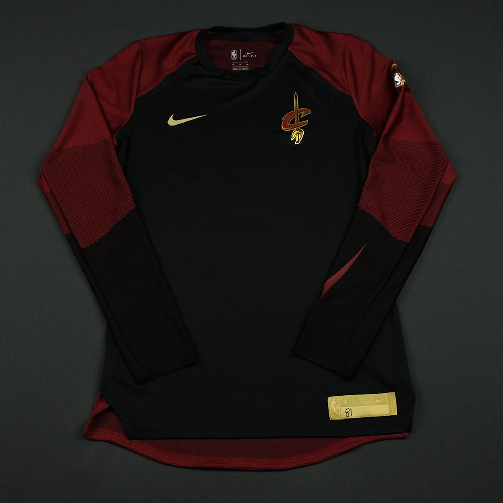 Jose Calderon - Cleveland Cavaliers - 2018 NBA Finals - Game-Issued Shooting Shirt