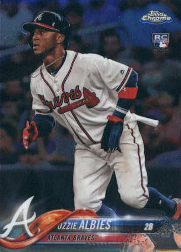 Photo of 2018 Topps Chrome #72 Ozzie Albies RC