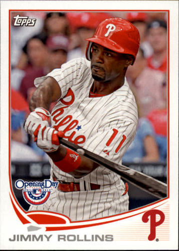 Photo of 2013 Topps Opening Day #208 Jimmy Rollins
