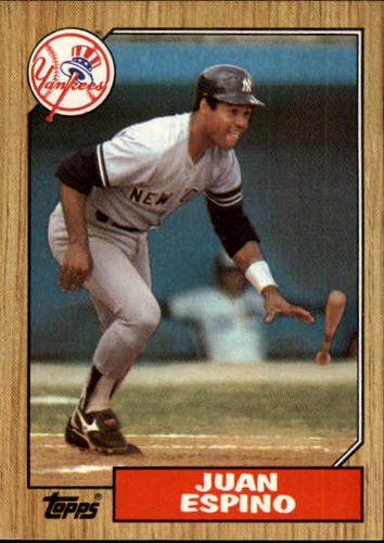 Photo of 1987 Topps #239 Juan Espino
