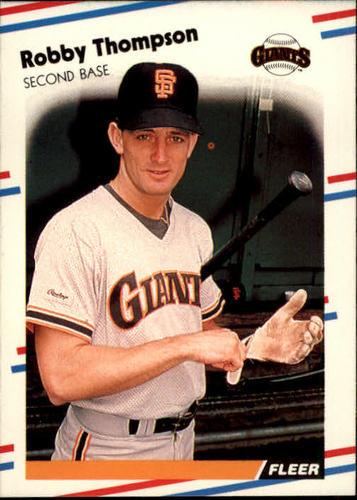 Photo of 1988 Fleer #98 Robby Thompson