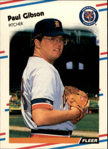 Photo of 1988 Fleer Update #26 Paul Gibson