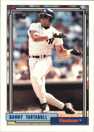 Photo of 1992 Topps Traded #116T Danny Tartabull