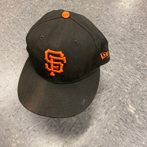 Photo of 2019 Game Used Cap worn by #7 Donovan Solano on 9/29 vs. Los Angeles Dodgers - Bochy's Final Game - Size 7 1/8