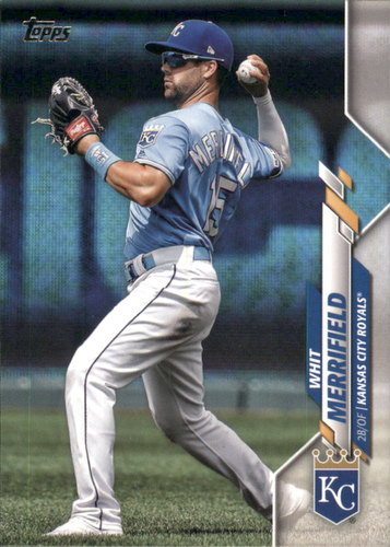 Photo of 2020 Topps #296 Whit Merrifield