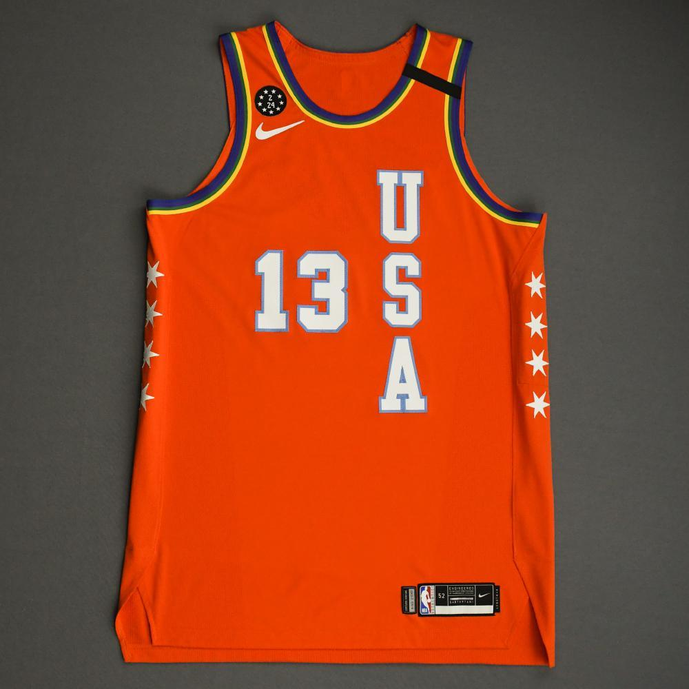 Jaren Jackson Jr. - 2020 NBA Rising Stars - Team USA - Game-Worn 1st Half Jersey