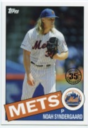 Photo of 2020 Topps '85 Topps #8567 Noah Syndergaard