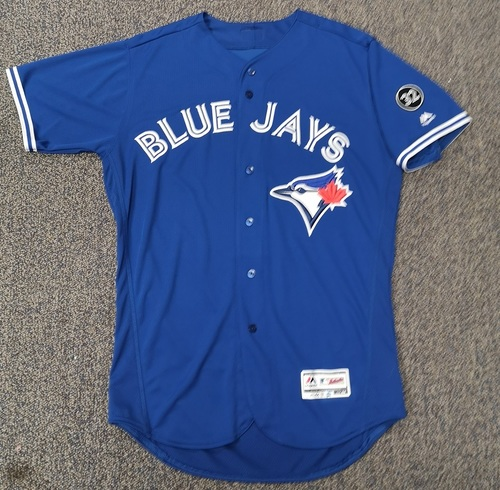 Photo of Authenticated Team Issued Blue 2018 Jersey - Features 32 Patch on Sleeve - - Choose your size!