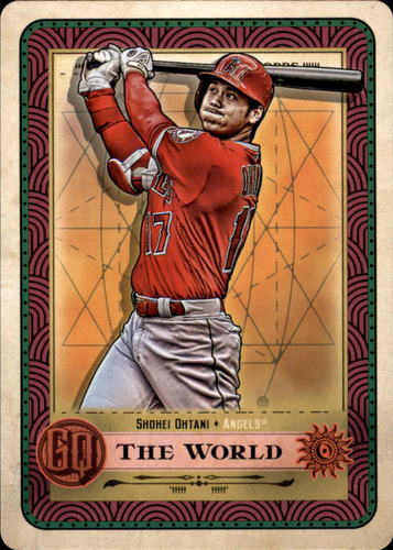 Photo of 2019 Topps Gypsy Queen Tarot of the Diamond #1 Shohei Ohtani