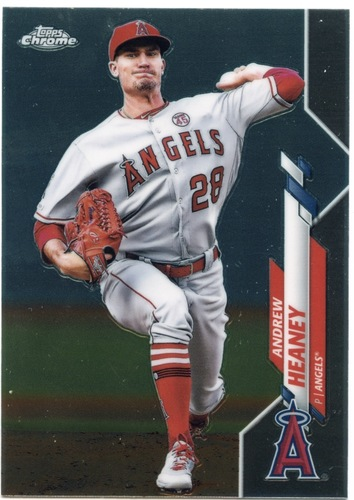 Photo of 2020 Topps Chrome #28 Andrew Heaney