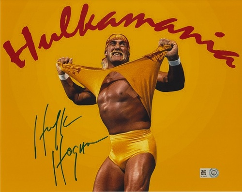 Hulk Hogan Autographed 8x10 Photo