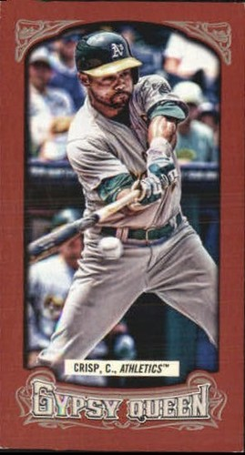 Photo of 2014 Topps Gypsy Queen Mini Red #257 Coco Crisp